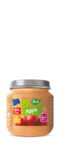 apple sauce baby food jar