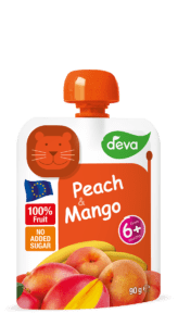 peach and mango baby food pouch 90 g