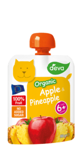 organic baby food pouches apple pineapple